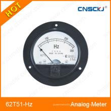 Medidor de frequência analógica montado em rodapé 62t51-Hz fabricado em Zhejiang