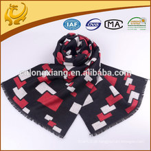Thic Comfortable Square Design Silk Scarf Custom