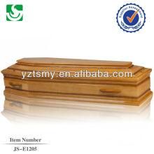 Estilo europeu com punho de madeira profissional para alça de caixão de madeira
