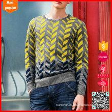 2017 último diseño pullovesweaterr manga larga erdos cashmere