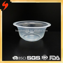 Unique Hygiene Transparent PP Round Disposable Plastic Soup Bowl