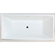 White Acrylic Free Standing Soaking Tub