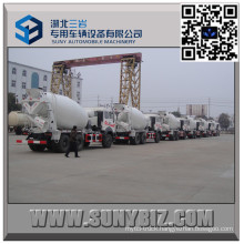 Beiben 5 M3 Mixer Truck with Mercedes Benz Technology
