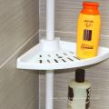 Cremalheira do banheiro extensível de aço inoxidável