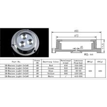 Hot vendeur 12v conduit des lumières de bateau, IP68 haute puissance sous-marin bateau conduit des lumières