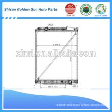 952*808*40mm new radiator for Mercedes Cargo truck
