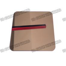 Hallo-Qualität 430 Edelstahl Spiegel Blatt für Dekoration Materialien