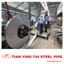 Galvanized Strip Pipe
