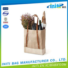 Wholesale non woven fabric packaging bag 6 pack wine bag