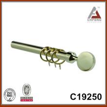 C19250 mordern причудливые металлические карнизы для штор, декоративные аксессуары для штор