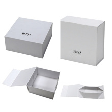 Flat Folding Cardboard Packaging Gift Box For Sale