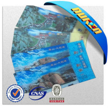 Custom Good Quality 3D Lenticular Plastic Entrance Ticket for Scenic Spots
