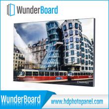 Marco de fotos de metal para paneles de fotos de aluminio HD Wunderboard