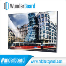 New Developed Plug-in Design Metal Photo Frame for Wunderboard HD Aluminum Photo Panels