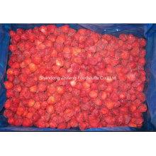 IQF Freezing Organic Strawberry de bonne qualité