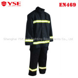 CE approval Aramid material Fire suit