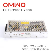 Wxe-120s-5 AC to DC 110V/220V Switching Power Supply CCTV Power Supply with Ce RoHS