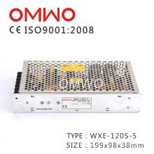 Wxe-120s-5 AC à fonte de alimentação do CCTV da fonte de alimentação do interruptor da CC 110V / 220V com Ce RoHS