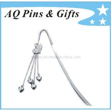 Marque de métal avec diamant en placage de nickel