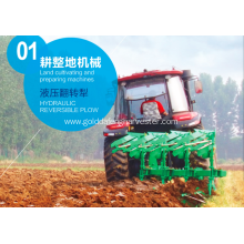 soil clods  tractor mounted hydraulic reversible plough