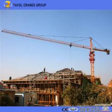 Guindaste de torre da tonelada do chinês 10 do fabricante do equipamento de construção