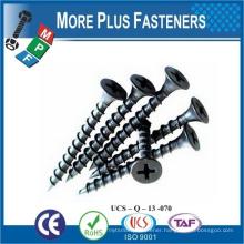 Made in Taiwan Phosphated Flat head Drywall Tek Screw