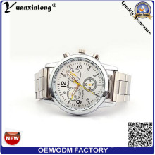 Yxl-664 Business Chronograph Design Uhren, Edelstahl Dise Material Armbanduhren Herren Luxusuhr