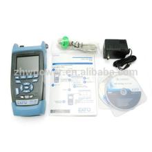 Fuente de luz del medidor de potencia óptica, medidor de energía de la fuente de luz óptica de fibra, EXFO AXS-100 SM OTDR de mano precio 1310 / 1550nm, 29 / 28dB