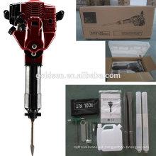 52cc 1700w gasolina portátil de gas de demolición de martillo de martillos máquina de mano de gasolina eléctrica de gasolina Mini Jack Hammer