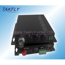 1CH FC Video Optischer Transceiver