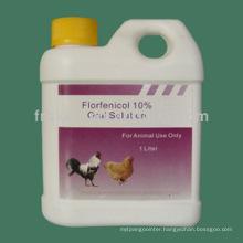 High Quality Cvp Florfenicol Oral Solution / Florfenicol Injection