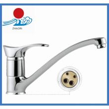 Solo manejar el grifo de agua mezclador de la cocina (zr22205)