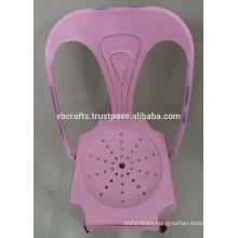 Industrial Vintage Pink Chair
