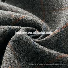 China lã pura tecido de tweed tecido para vestuário de inverno