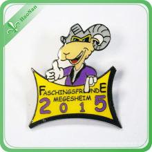 Custom Metal Badge Label Pin for Souvenir Promotion Gift
