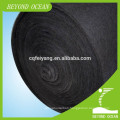 Activated carbon filter felt