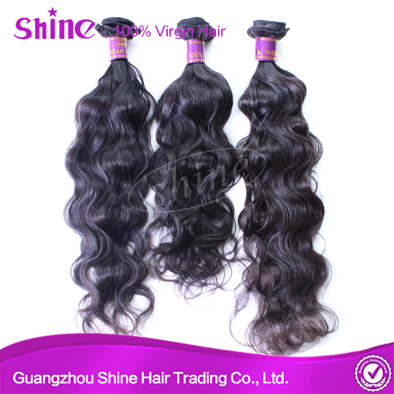 Brazilian human hair natural wave