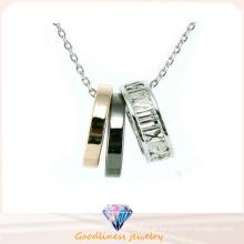 Novo design para a colar da mulher 925 jóias de prata (N6661)