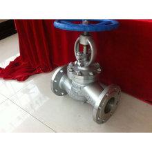 Válvula de globo de acero inoxidable 304/316 con brida
