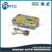 Blade Lockplate Oblong Theftproof Iron Safe Box Lock