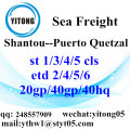 Shantou Shipping Company to Puerto Quetzal