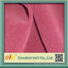 tissu de velours crewel