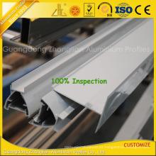 Perfiles de extrusión de aluminio modificados para requisitos particulares de alta calidad para la construcción del sitio limpio