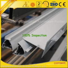 Profils en aluminium adaptés aux besoins du client d'extrusion de haute qualité pour la construction de salle blanche