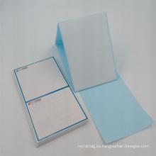 pegatina pre impreso de la etiqueta engomada del doblez para la venta