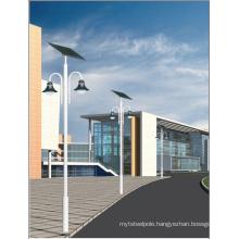 Solar panel street light pole manufacturer