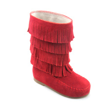 Multilayer tassels Rubber Sole Baby Boots Wholesales