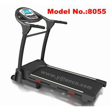 New Deluxe Motorised Home Use Folding Motorised Treadmills Black