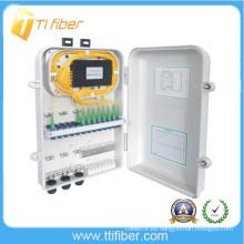 1x12 plc divisor fibra óptica distribución caja