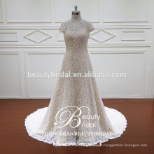2017 newest design of luxury heavy beading mermaid wedding dress for women bridal